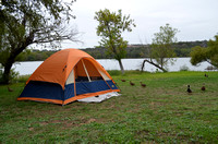 Camping at Inks Lake - Oct 2012